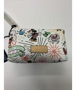 Dooney & Bourke Disney World Disneyland Mickey Sketch Cosmetic Case Bag NEW - $46.74