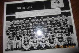 1979 World Champs Pittsburgh Pirates B&W Photo 8X10 Frame - $25.00