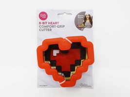 Ro Swirl Comfort-Grip 8-Bit Heart Cookie Cutter  - $8.99