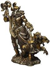 Greek God Of Underworld Hades With Cerberus Dog Statue Roman Figure - $64.32