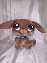 (1) Authentic Littlest Pet Shop #518 VIP Dachshund Dog Plush Toy MOM NWT - $32.66