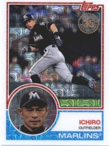 2018 Topps 83 Chrome Silver Promo Series 1 #3 Ichiro NM-MT Marlins  - $6.00