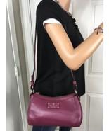 NWOT Kate Spade Berkshire Road Gabriella Magenta Pebbled Leather Shoulder Bag