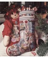 2 Cross Stitch Sugar N Spice & Angel Cuff Christmas Stockings Ornaments ... - $9.99