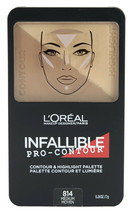 L'Oreal Infallible Pro Contour Palette *choose your shade*Twin Pack* - $12.59