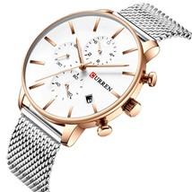 CURREN Simple Style  Watch Men  Watches Business Clock Male Wristwatches Waterpr - $51.34
