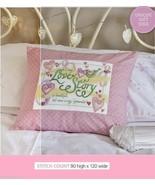 YOUR LOVE STORY CUSHION    -       CROSS STITCH PATTERN   EQ - RER - $7.38