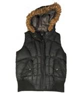 Calvin Klein Performance Women's  Med Puff Vest Jacket Black AA81 - $18.37