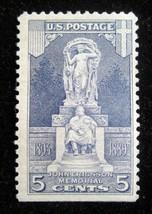5¢ 1926 Scott # 628 John Ericsson Memorial Statue  USPS Mint VF OG  - $5.54