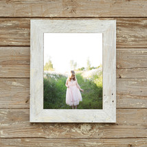 """The Appalachian 2.5"""" Whitewashed Reclaimed Wood Frame- - Vintage Rustic Decor  ( - $19.00"""