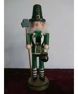 "St. Patrick's Day Nutcracker Irish 14"" Leprechaun - $37.39"