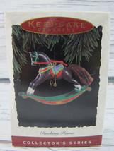 1994 Hallmark Keepsake Rocking Horse Christmas Ornament - $15.99