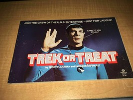 1977 Star Trek or Treat Just For Laughs U.S.S. Enterprise joke book 1st ... - $3.66