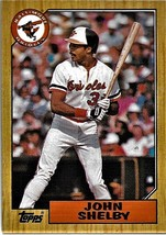 1987 Topps Baseball Card, #208, John Shelby, Baltimore Orioles - $0.99
