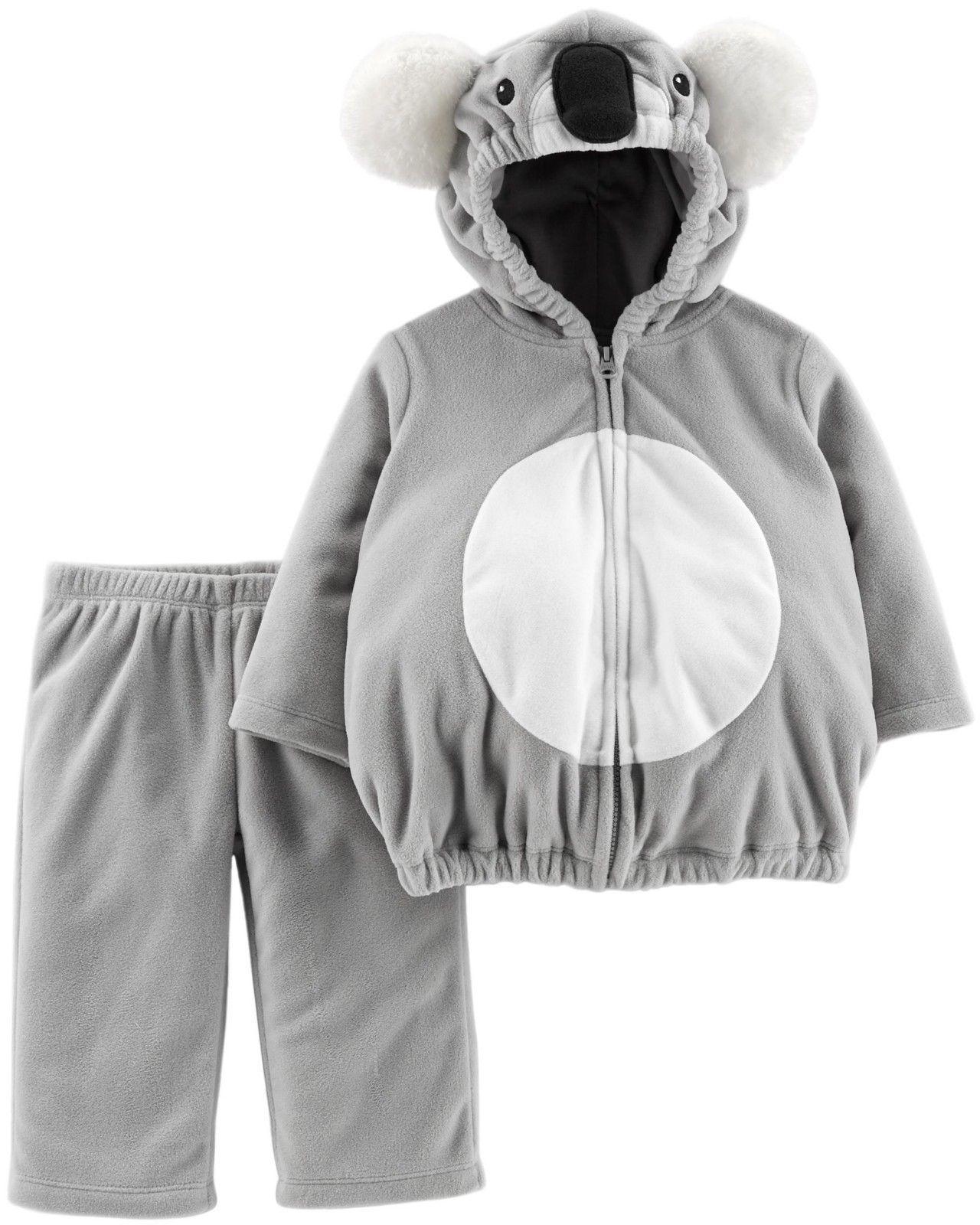 NEW NWT Carters Koala Halloween Costume Boy or Girl 12 18 or 24 Month