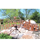 Metal Texas to the BONE Sign Wall Entry Gate EXTRA LARGE 56 1/2 inch bz - $179.98
