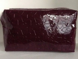Estée Lauder Faux Patent Leather Makeup Bag  - $6.92