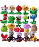 20pcs/set Plants vs Zombies Stuffed Plush Toys Fashion Games PVZ Soft To... - $98.80