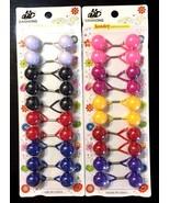 20 JUMBO Elastic Hair Bands Hair Ties Band Rope Elastic Ponytail Holder ... - $11.99