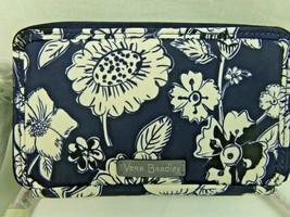 Vera Bradley Blue Midnight Floral All In One Crossbody Bag Wallet RFID - $52.24