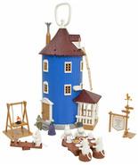 Casa dei giocattoli in plastica Moomin e 9 figure Martinex * NOVITÀ - $164.48