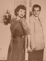 I Love Lucy Door Lucille Ball Vintage 8X10 Sepia TV Memorabilia Photo - $4.99