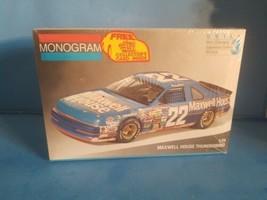1991 FORD THUNDERBIRD # 22 MAXWELL HOUSE STERLING MARLIN MONOGRAM 1/24 NEW - $18.69