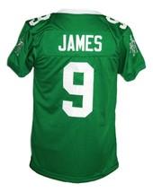 Lebron James #9 Irish High School New Men Football Jersey Green Any Size image 2