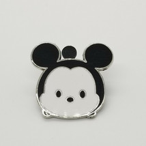 Disney Pin Tsum Tsum Mickey Baby Mickey Mouse Black White Tradable Pins - $6.80