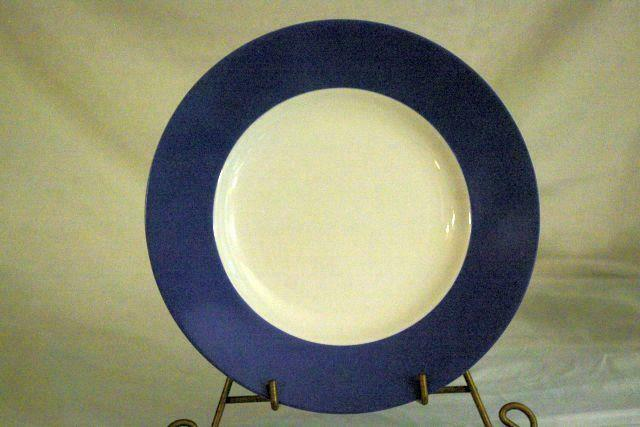 """Lenox 2019 Continental Dining Blue Salad Plate 9 1/2"""" New"""