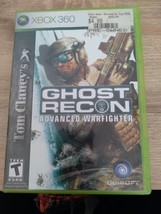 MicroSoft Xbox 360 Tom Clancy's Ghost Recon: Advanced Warfighter ~ COMPLETE image 1
