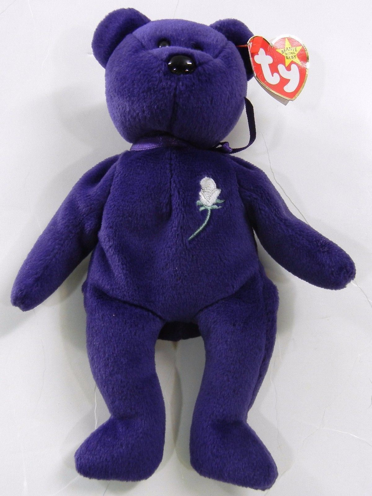 75e14e9a711 TY BEANIE BABY Princess Diana Purple Plush and 50 similar items