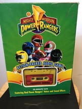 Vintage MIGHTY MORPHINS Power Rangers Action Packed Audio Game All Piece... - $8.54