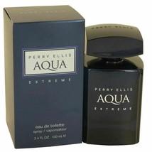 Perry Ellis Aqua Extreme by Perry Ellis Eau De Toilette Spray 3.4 oz for... - $35.09