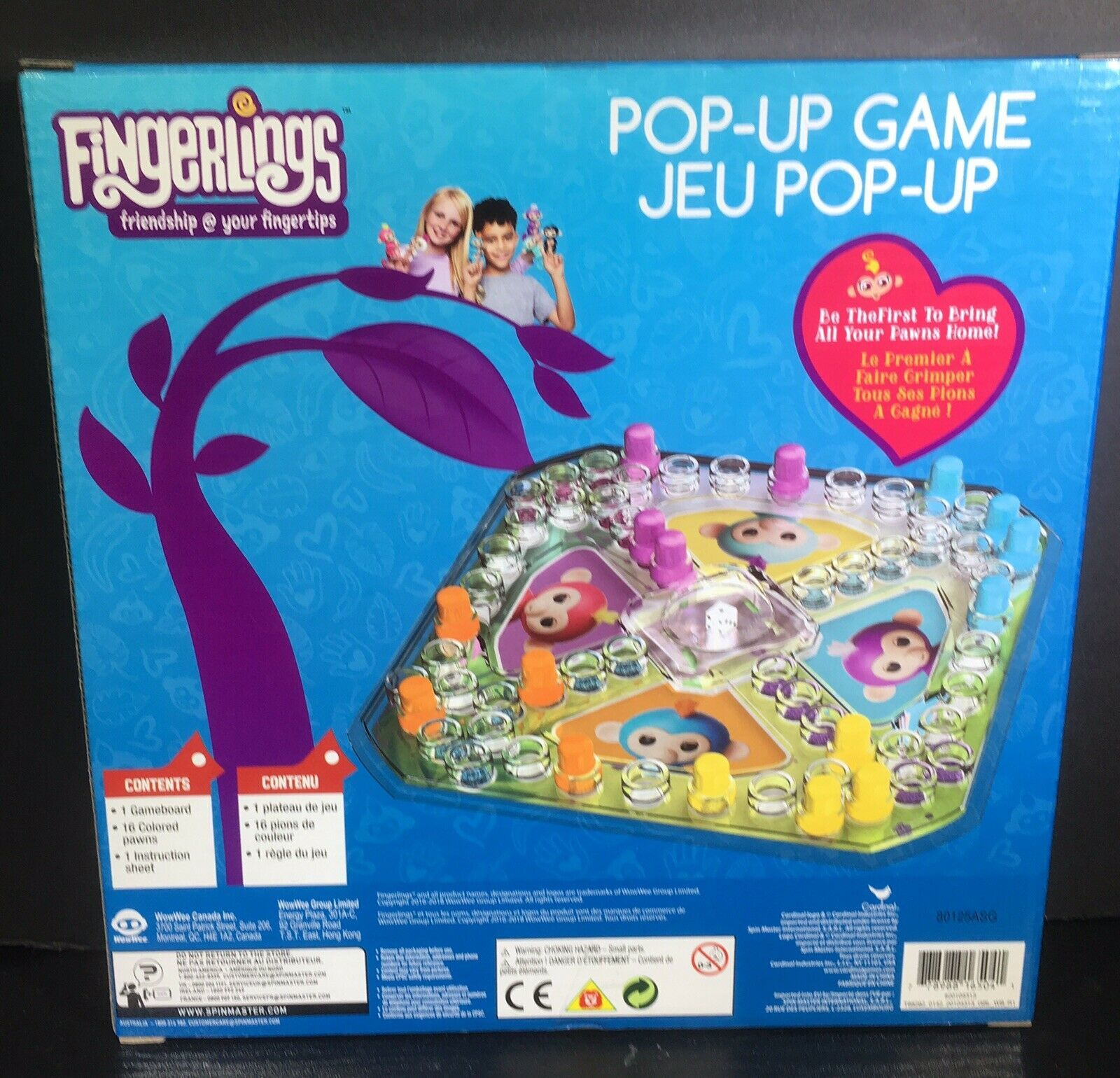 New Fingerlings Pop-Up Game - Friendship At your fingertips by Cardinal
