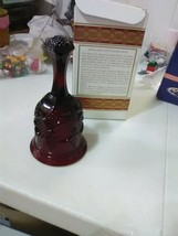 Avon 1876 Cape Cod Collection Red Hostess Bell - $5.47
