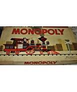 MONOPOLY GAME: Original Box, Game Board, Cards, Money VINTAGE 1957 PB  - $22.50