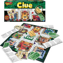 Winning Moves Clue the Classic Edition  - $23.99