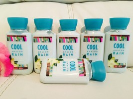 6 Bath & Body Works Signature COOL AMAZON RAIN Body Lotion travel size  ... - $29.62