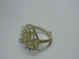 925 sterling Silver mount Ring,Oval- 4X3 mm,RI-0232,ring,all size available - $11.60