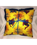 Spider-Man Pillow And Blanket Marvel Spider Man Yellow Pillow and Blanke... - $19.99