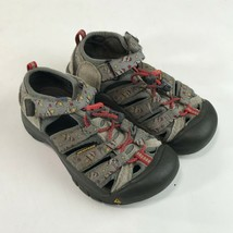 Keen Toddler Boy Girls Newport H2 Sandals Size 12 Gray Rockets Play Wate... - $19.79