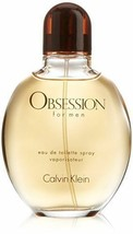 Calvin Klein Obsession 4oz Men's Cologne EDT Eau de Toilette Spray CK Fr... - $29.09