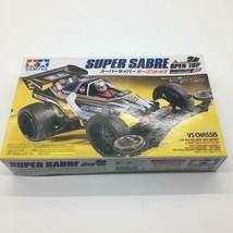 Discontinued plastic model unassembled Tamiya Mini 4WD Super Saber Open ... - $118.56