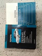 1989 Toyota Cressida Servicio Shop Manual Reparación Set Oem con Diagrama - $118.42
