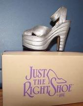 Raine Willitts Design Just The Right Shoe Silver Cloud MIB 1998 image 1