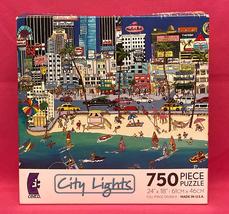 Ceaco City Lights puzzle Miami Beat 750 piece Roxy 2010 - $6.00