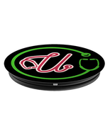 Monogram U with Stethoscope - Doctors Nurses Veterinarians - PopSockets ... - $15.00