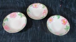 3 Franciscan Desert Rose Berry Bowls - $5.79