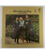 In The Wind by Peter Paul and Mary Vinyl LP, 1963, W1507 Album - $3.95